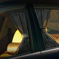 Free Shipping Aluminum alloy car curtain, Auto Folding Sun Shade, Car Side Window Curtain, Car Window Curtain