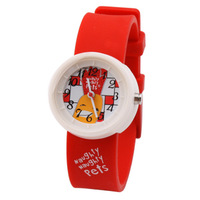 Naughtypets child student table cartoon watch jelly table nnp74