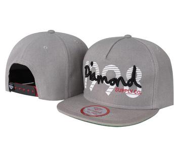 Diamond supply CO Snapback Hats fashion baseball adjustable caps DI07 grey 1998 New arrival hot selling