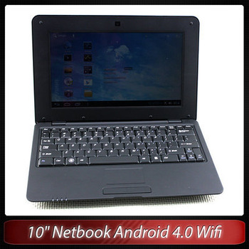 "New 10"" Inch Wifi Netbook Laptop Notebook VIA8850 Android 4.0 4GB+webcam Top quality Free shipping"
