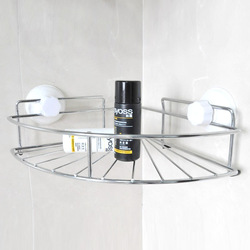Strong suction cup fanghaped shelf bathroom jiaojia(China (Mainland))