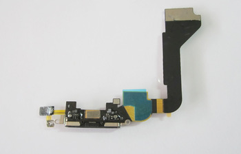 20pcs/lot original Charger Dock Connector Flex Cable for iPhone 4G free shipping