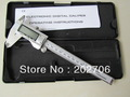 "Free shipping 0-150mm/6"" Metal casing Digital CALIPER VERNIER caliper GAUGE MICROMETER"