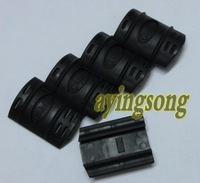100pcs UTG tactical rubber handguard rail covers Black