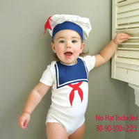 Retail 1pcs free shipping 2013 boy short sleeve rompers baby cotton  rompers (rompers+hat) new design jumpsuits 2  rompers