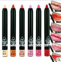 Free shipping/  6pcs/lot   Fashion shape convenient lipstick pen / 6colors choose