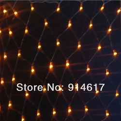 Free shipping 220V 4mX6m 672led Colorful LED Net Light Christmas light Party Wedding led string light(China (Mainland))