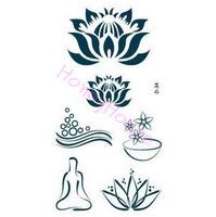 Free shipping ,10pcs/ lot Temporary tattoo stickers Temporary body art Supermodel stencil designs Waterproof tattoo #NS044#