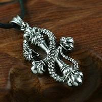 Dragon tvxq titanium pendant chain