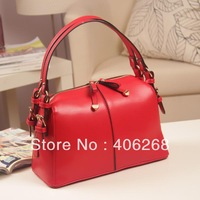 free shipping 2013  New Arrival  best quality waterproof pu leather elegent ladies' handbag shoulder bag