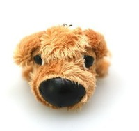 Thedog big head dog 5cm plush doll - teddy poodle