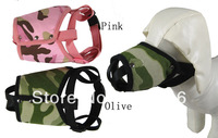 Free Shipping Camouflage Dog muzzle Two Color