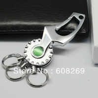 freeshipping! Wholesale Car coated with titanium metal keychain / metal keychain / high-end creative gifts / 904