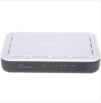 Fast fr40 4 soho broadband router 400m main frequency processor wired router(China (Mainland))