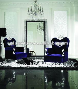 2012 neoclásico chaise lounge madera tallada preside NC120402