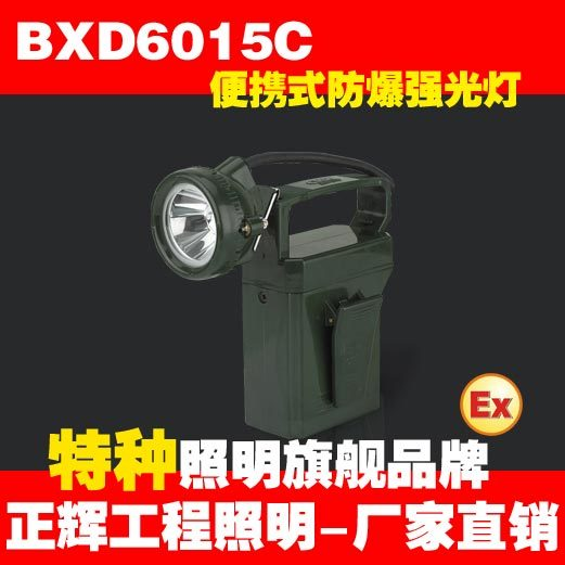 Positivie bxd6015c portable explosion-proof floodlights portable headlights led gas station lamp(China (Mainland))