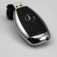 Free Shipping 4GB 8GB 16GB 32GB 64GB car key usb flash drive 100% Full Capacity