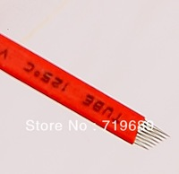 Free Shipping 100pcs Embroidery  Disposable tattoo needles for manual Pen -HP