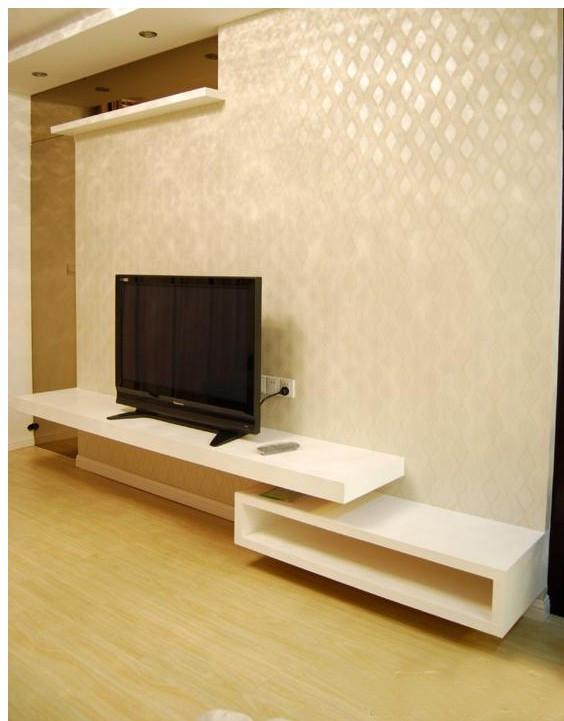 sfondo tv mensola piccoli mobili scaffale breve mobile tv set top box ...