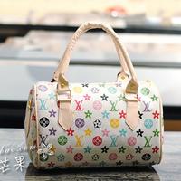 Free shipping Hot sale, 2013 bucket bag handbag shoulder bag cross-body print vintage female bags fashion