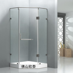 Simple shower room shower room xi zaofang glass-house 8mm diamond the door 90cm--a9186(China (Mainland))