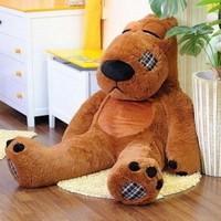 Backkom plush toy teddy bear hug Bear Christmas gift birthday gift teddy bear 120CM teddy bear