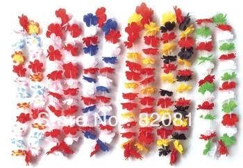 Party supplies hawaiian flower lei