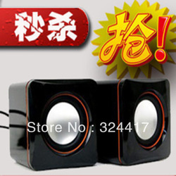 Small computer sound USB mini speaker mp3 audio mobile audio speaker portable mini bass(China (Mainland))