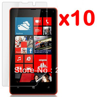 10X New CLEAR LCD Screen Protector Guard Cover Film For Nokia Lumia 820