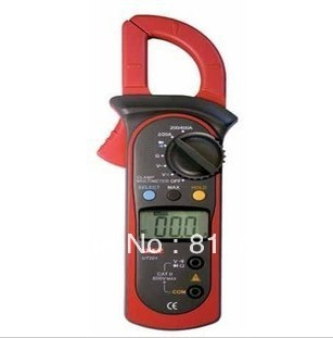 Resistance DC AC Voltage Measuring Tool UT201 Clamp Meter Multitester(China (Mainland))
