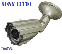 700TVL Effio Sony CCTV Varifocal lens Outdoor Dome camera 2.8-12mm lens IR Camera,+ Free shipping