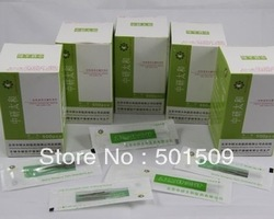 Free shipping 500pcs medical Disposable sterile acupuncture needle Zhenjiu needle for single use(500pcs/carton)(China (Mainland))