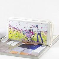 Meters sweet gentlewomen long zipper design wallet anime figure long design wallet - 23
