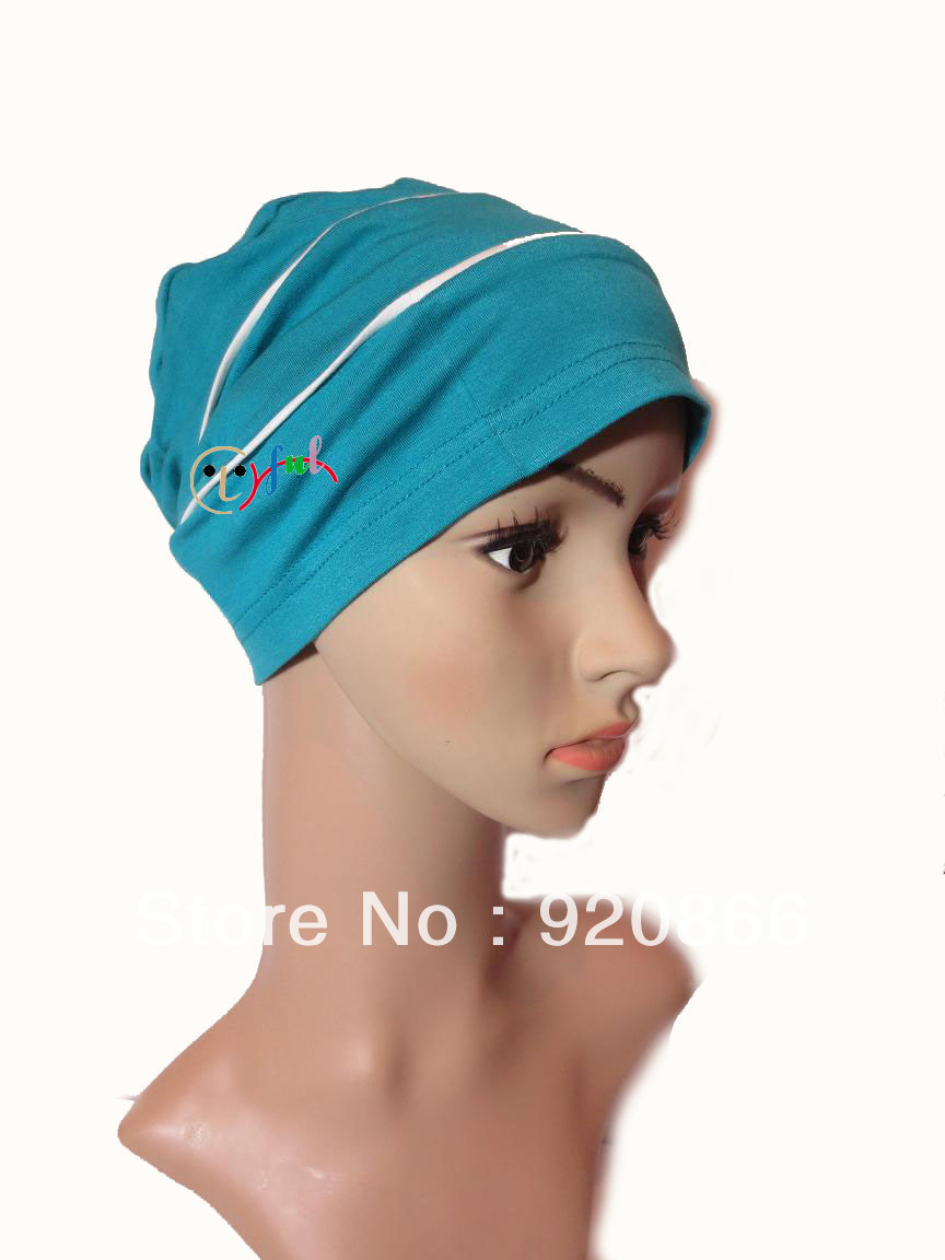 Factory Manufacturer Knitted Beanie hats Low price High quality Headwrap Hair loss Treatment Multi colors choice(China (Mainland))