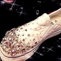 Handmake 2012 women new designer gem rhinestone flats shoes crystal wedding party flat