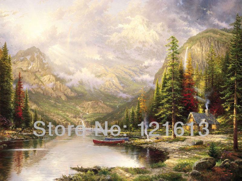 Online kopen wholesale buiten muur schilderen uit china buiten muur schilderen groothandel - Berg wandlamp ...