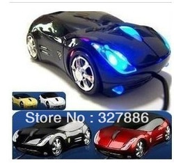 VIP PRICE! Car Shape USB 3D Optical Mouse Mice Free Shipping Wholesale(China (Mainland))