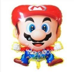 Free Shipping50pcs/lot Mario balloons,Helium Balloon,foil balloon