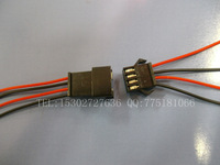 Sm2.54 4p terminal line electronic wire patch cord cable 0.9 set
