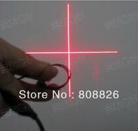 10pcs/lot / Cross / adjustable focal length / 5mW red laser head / industrial laser modules / laser / positioning laser mold
