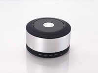 2012 NEW Hot sale Aluminum alloy Bluetooth Speaker with Handsfree call mobile phone and tab pc,Free shipping