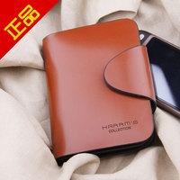 free shipping 2013 cowhide wallet male men's wallet male short design wallet genuine leather wallet