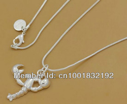 GY-PN184 Retail / wholesale Free Shipping 925 Silver fashion pendant Chain Necklace , 925 silver jewelry fdma nuta wmca(China (Mainland))