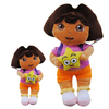 candice guo! High Quality Soft Plush toy Dora the Explorer Plush Dolls Toy 35cm 1pc