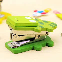 mix order(min 15$)free shipping Because of stationery cartoon animal mini stapler 1231(China (Mainland))