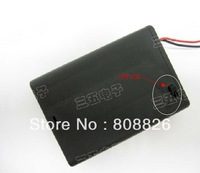 20pcs/lot / Can install 3 battery 5 # / battery box / covered with switch / laser mould / DIY electronic accessories