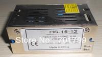 12V/15W switch mode power supply,size:84*58*38mm