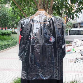 Transparent dust cover clothes dust cover suit cover quality plastic cover