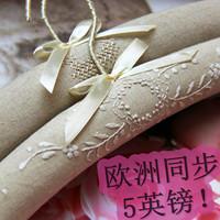 Honey fashion quality sponge slip-resistant cloth hanger cloth hangers lace