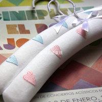 Plastic core sponge French Large magic cloth hangers 2 love